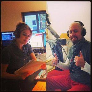 Stefan im Radio